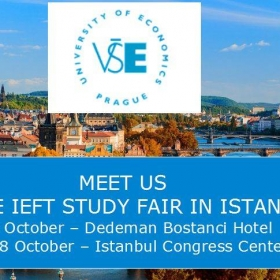 VŠE at the IEFT Study fair in Istanbul – 26-28 October