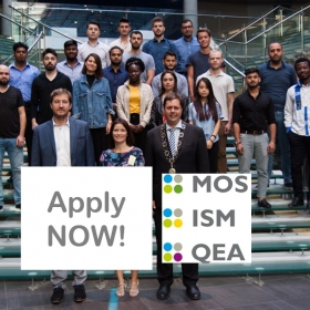 ISM/ QEA/ MOS Online Applications are open!