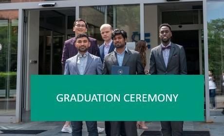 Graduation ceremony (ISM, QEA and MOS graduates) – 5/11/2021