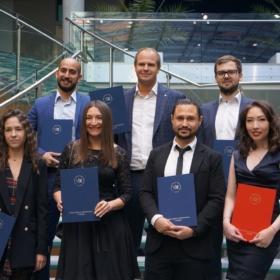 Graduation ceremony – September 8
