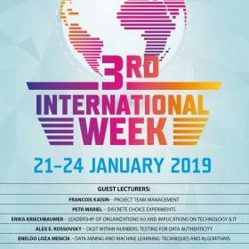 International Week at FIS – registration to courses is open from 19 November