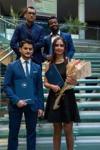 QEA and MOS graduates 2020