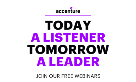 Join the webinars organized by ACCENTURE