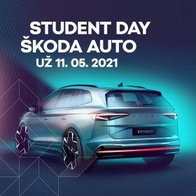STUDENT DAY ŠKODA AUTO 2021 – 11.5.2021