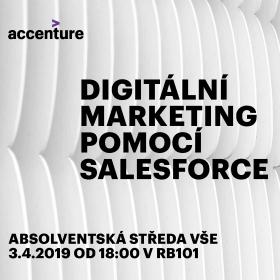 Absolventská středa: Digitální marketing pomocí Salesforce (3.4.)