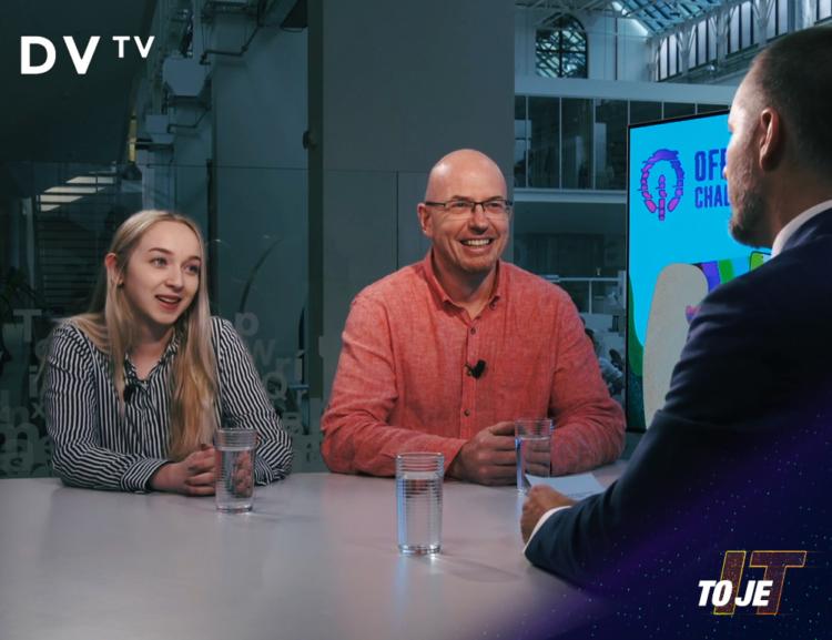 Rozhovor v DVTV s režisérem dokumentu Offline, který vznikl na Katedře multimédií, FIS VŠE