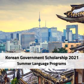 Nabídka stipendijních míst na letních jazykových kurzech v Koreji v roce 2021