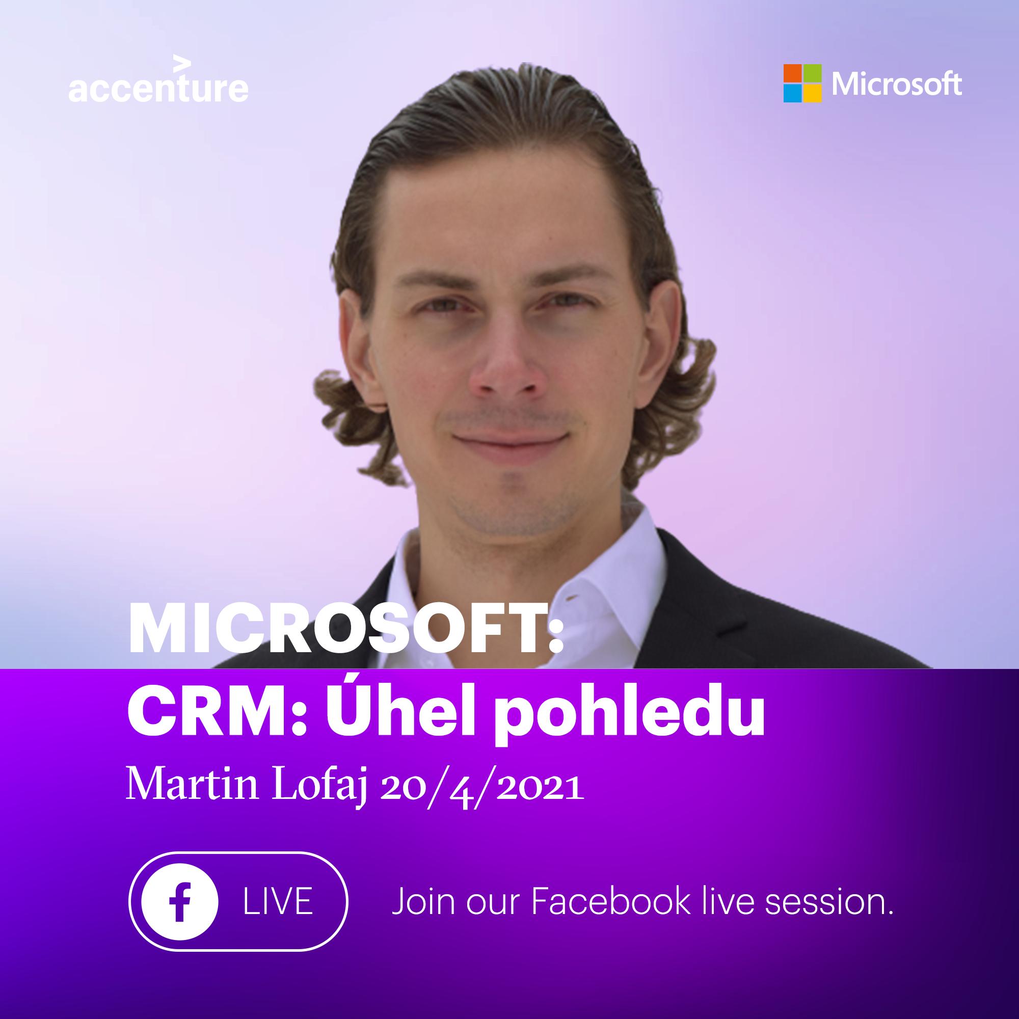 Webinář: CRM od společností Accenture a Microsoft – 20.4.2021