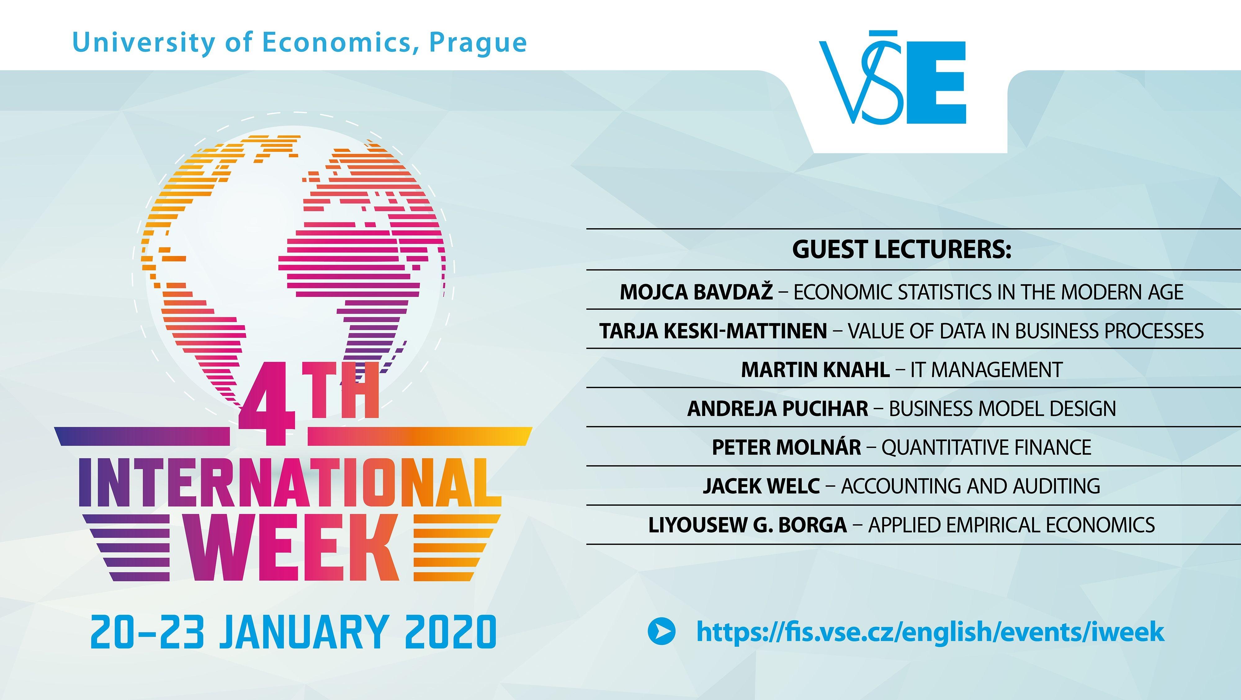 Zápisy do International Week kurzů 2020 jsou otevřeny!