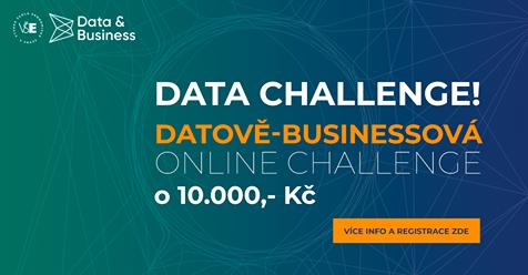 Data Challenge už 1.dubna ve 14:00